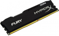 Память оперативная DDR4 8Gb Kingston 2666MHz CL16 DIMM HyperX FURY Black