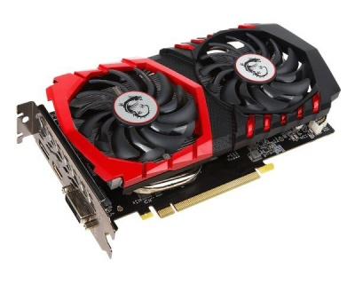 Видеокарта MSI GeForce GTX 1050 GAMING X 2G 2Gb GDDR5 128-bit PCI-Ex16 3.0 DL-DVI-D DP(1.4) HDMI(2.0