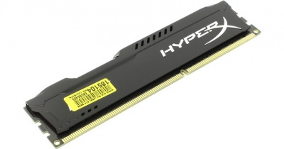 Память оперативная Kingston 4GB 1333MHz DDR3 CL9 DIMM HyperX FURY Black Series HX313C9FB/4