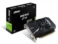 Видеокарта MSI GeForce GTX 1050 Ti AERO OC 4Gb GDDR5/128-bit PCI-Ex16 3.0 DL-DVI-D DP(1.4) HDMI(2.0)