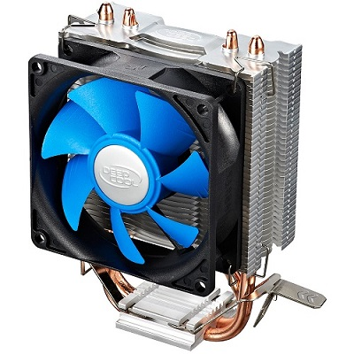 Кулер DEEPCOOL Ice Edge mini FS LGA775/1155/1156/ K8/AM2/AM2+/AM3/FM1 (Al+Cu, 2 трубки, 2200 rpm
