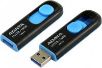 Память USB Flash 16Gb ADATA UV128 USB 3.1 Flash Drive черный/синий