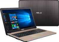 "Ноутбук ASUS D540YA-DM790D 15.6"" AMD E-Series E2-6110 1.5Ghz 4096Mb SSD 240Gb noDVD Int:AMD Radeon R"