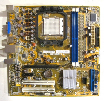 Комиссионная Материнская плата Asus  M2N68-LA (Socket AM2) 2 DDR