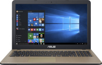 "Ноутбук ASUS 15.6"" 1366x768  AMD E2-9000 1.8Ghz 4096Mb 500Gb DVDrw Int:AMD Radeon R2 Cam BT WiFi war"