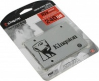 Твердотельный накопитель SUV400S37/240G  Kingston 240GB SSDNow UV400 SATA 3 2.5 (7mm height) TLC